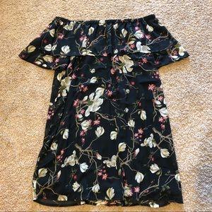 Forever 21 2X off the shoulder dress
